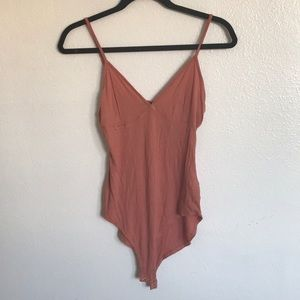 Coral bodysuit